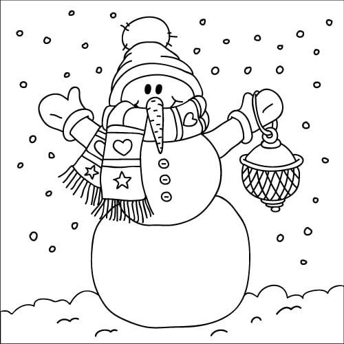Neve Disegno Per Bambini