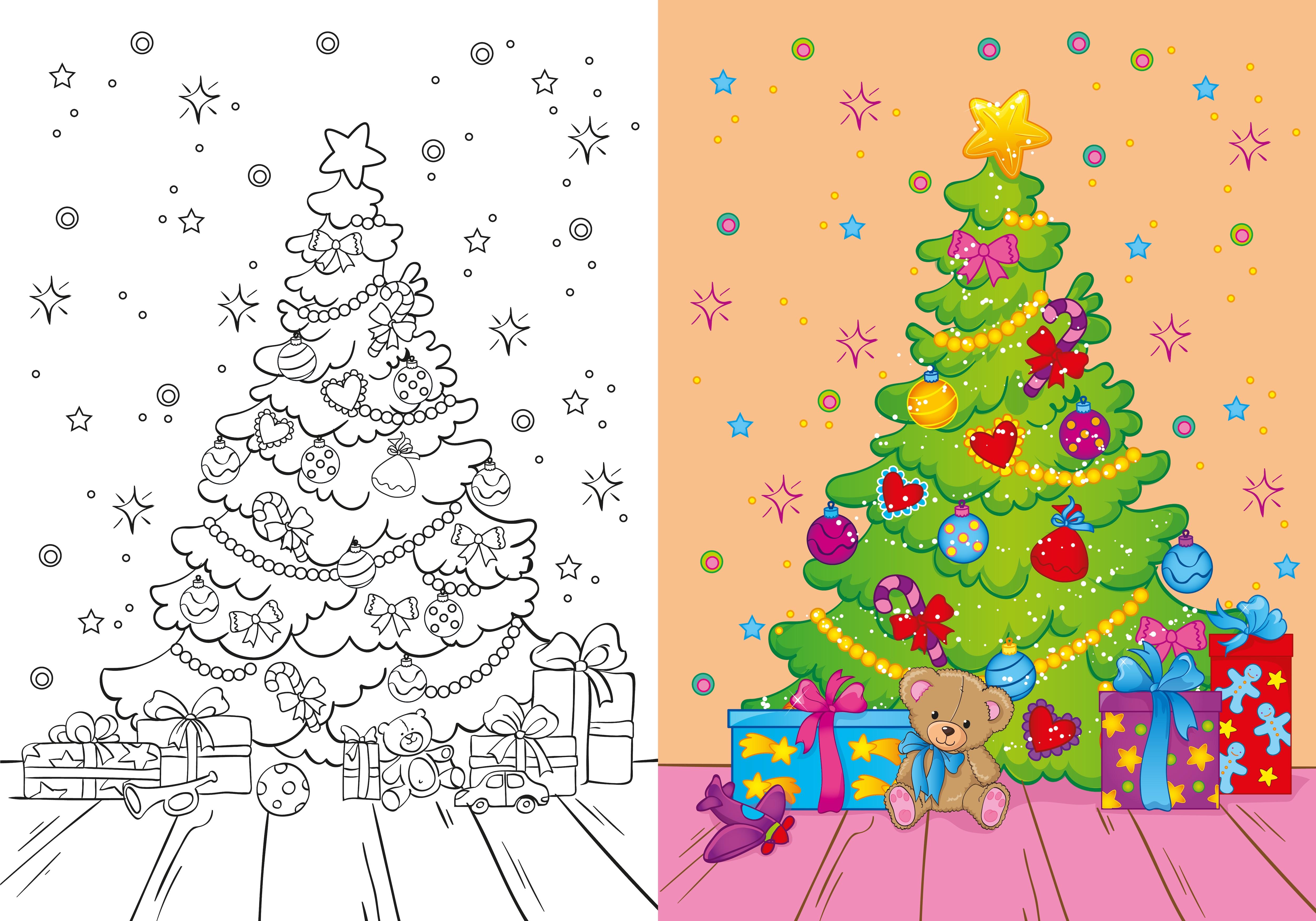 Natale Disegni Per Bambini Da Colorare Nostrofiglio It