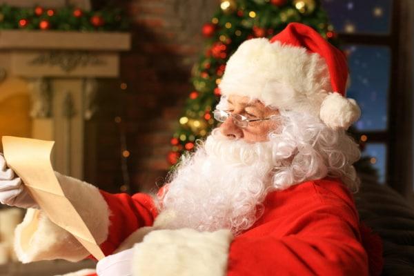 Natale Bambini.La Lettera Da Babbo Natale Ai Bambini Nostrofiglio It