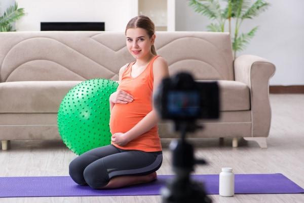 Yoga gravidanza video