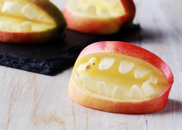lavoretti halloween scuola infanzia mela dentata