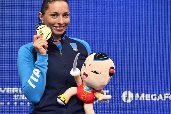 mara navarria, campionessa mondiale di spada femminile