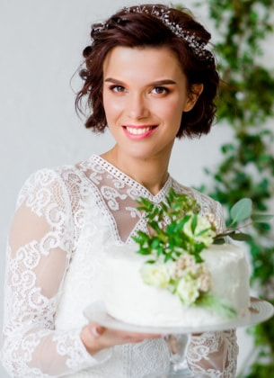 16 Acconciature Per Spose Con I Capelli Corti O A Caschetto