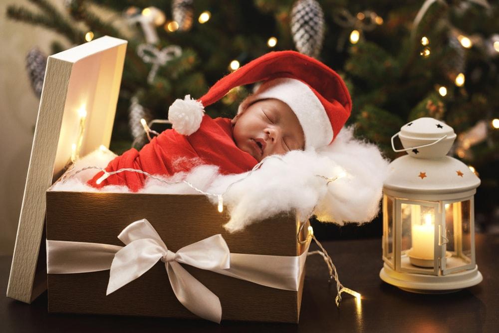 Immagini Bambini E Natale.Il Suo Primo Natale 20 Foto Dolcissime Di Neonati Nostrofiglio It