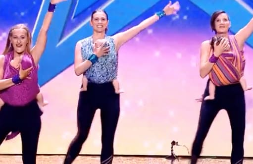 danza in fascia italia's got talent 3