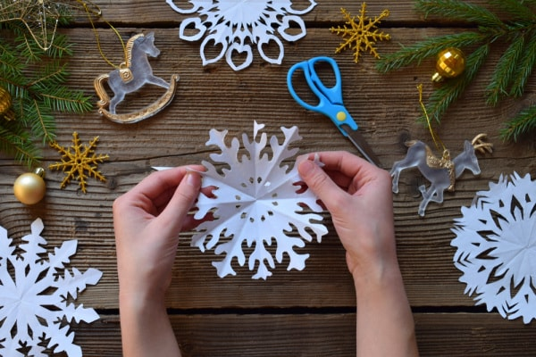 Decorazioni di Natale Montessori
