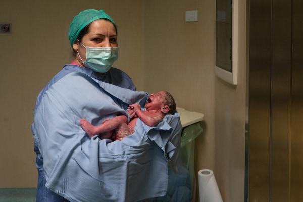 parto cesareo gemellare