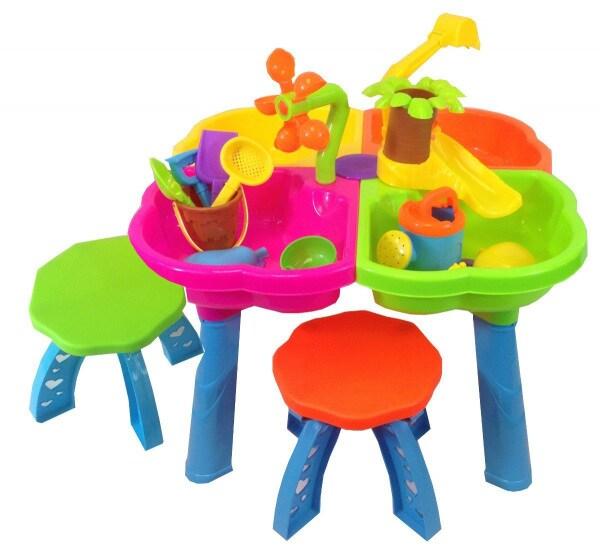 Tavolo per gioco in giardino
