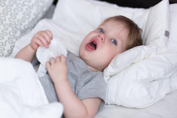 tosse bambini