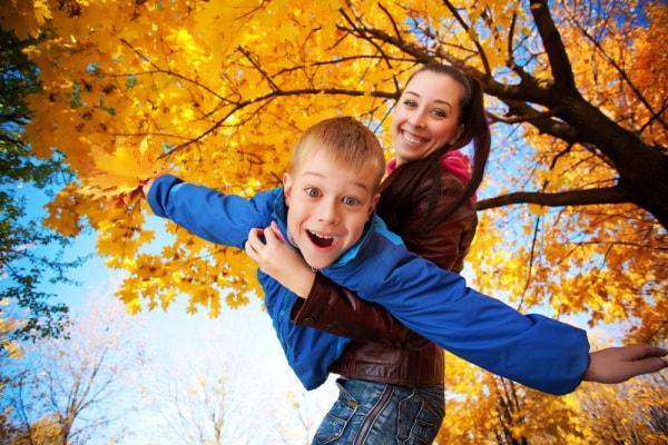 autunno famiglia