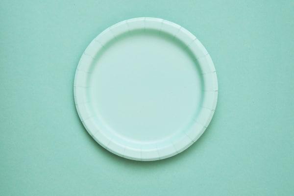 piatto carta