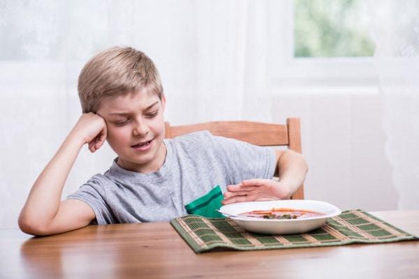 Bambino schizzinoso