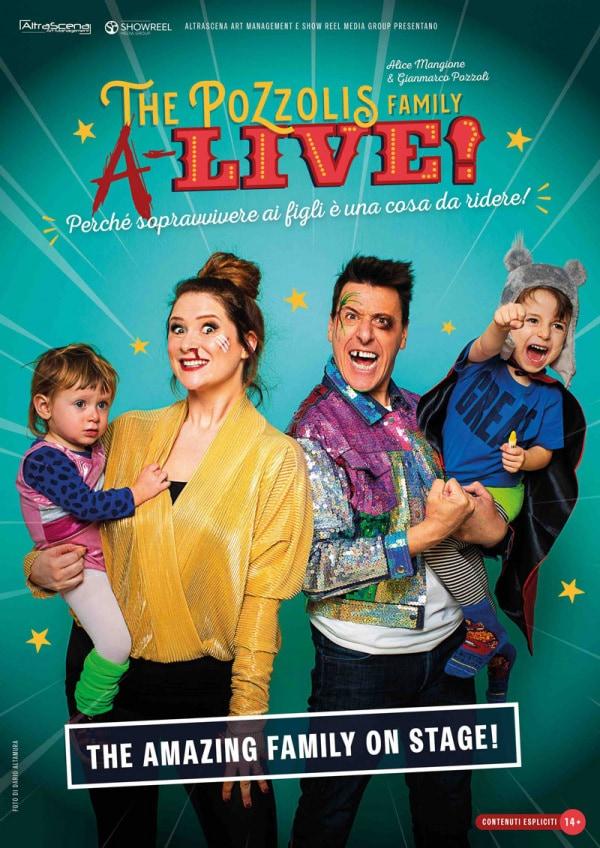 The Pozzolis Family a teatro