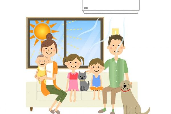 aria condizionata bambini