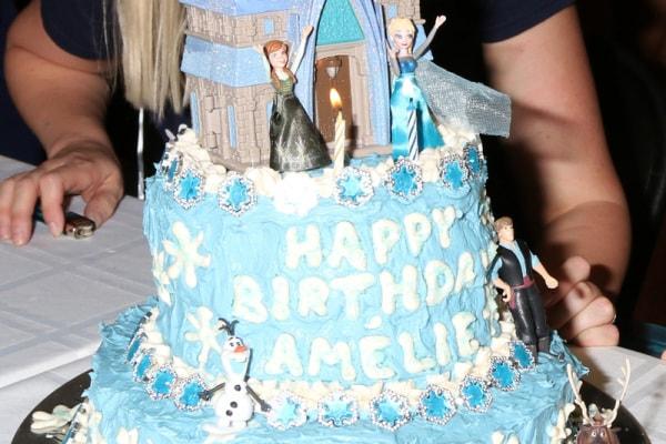 8 torte di compleanno ispirate a Frozen