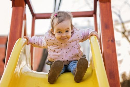 Bambino a 2 anni