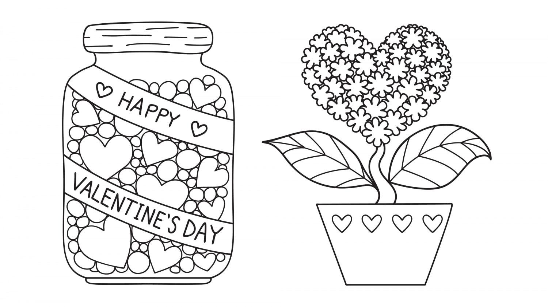 San Valentino Disegni Da Colorare E Da Stampare Nostrofiglio It
