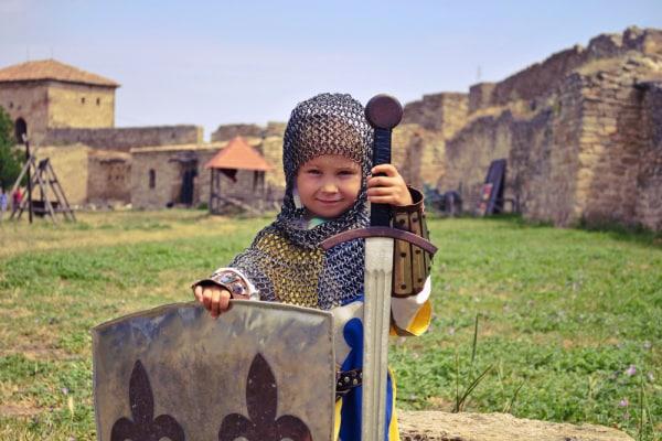 bambina guerriera