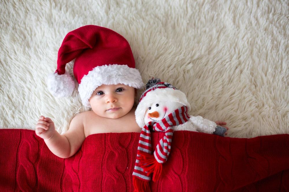 Foto Bimbi Di Natale.Il Suo Primo Natale 20 Foto Dolcissime Di Neonati Nostrofiglio It