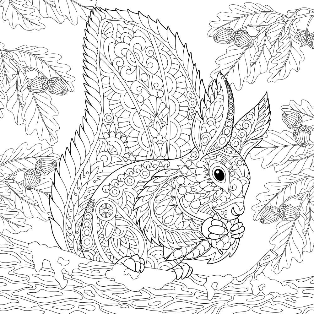 Mandala Da Colorare Per Bambini Con Animali Ardusat Org