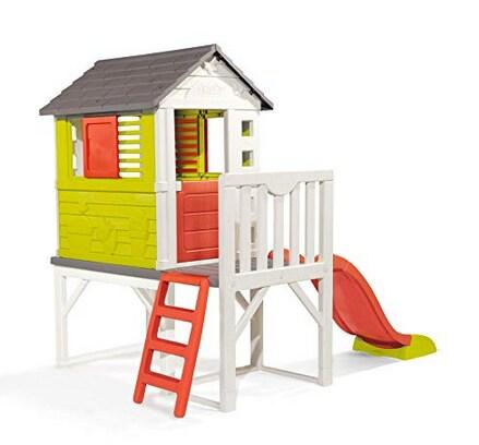 casa giocattolo Smoby con scivolo