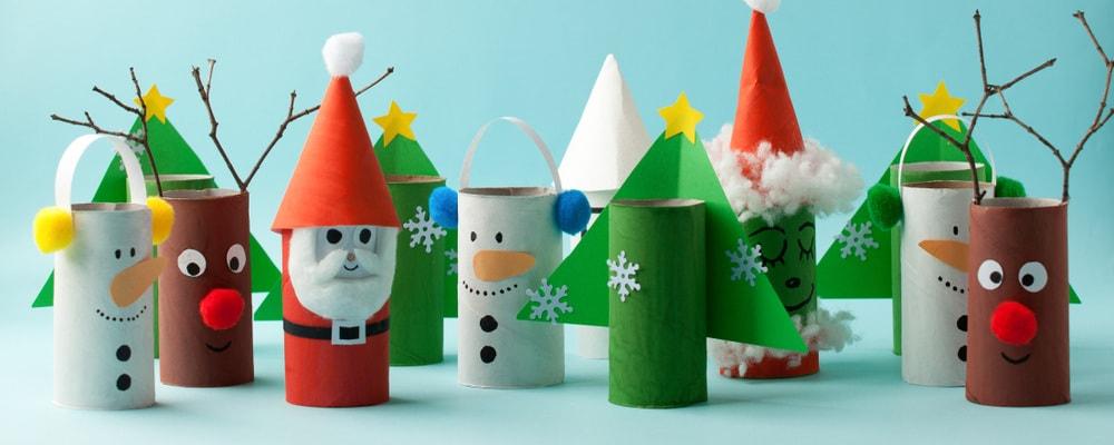 Lavoretti Di Natale Con Carta.10 Lavoretti Di Natale Con La Carta Nostrofiglio It