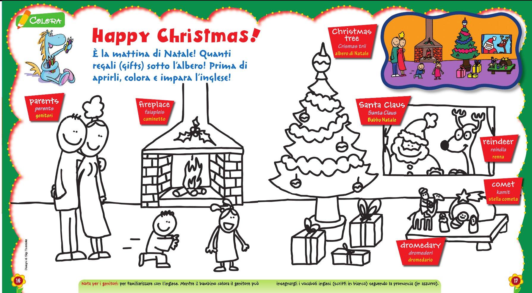 Natale In Inglese.Disegni Di Natale In Inglese Da Colorare Frismarketingadvies