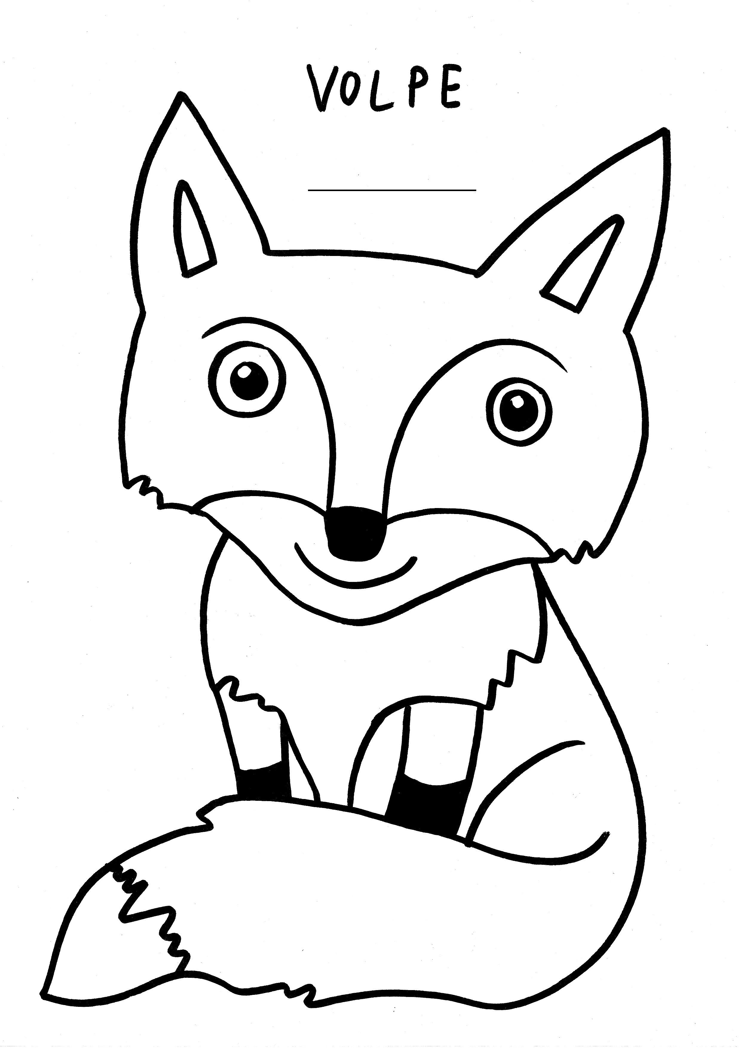 Disegni da colorare dell 39 autunno for Disegno orso per bambini